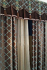 Luxurious fancy window curtain patterns with valance