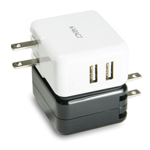 Dual Port Home and Travel Portable USB Wall Charger