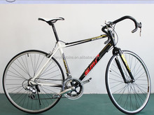 2015 New style 18 Speed Racing Bicycle Cheap Steel Road Bike