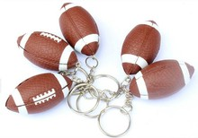 sports balls keychains customized various balls like rugby ball keychain
