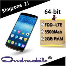 64bit android smartphone with Mtk6752 processor 2GB Ram 13MP camera Kingzone Z1