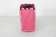 Hot sale beautiful and cheap storage box aluminum laundry hamper new style laundry basket