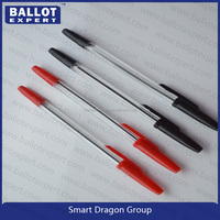 Colorful Plastic Ball Pens To Choose Which Printed Custom Logo Pens For Promotion & Gift