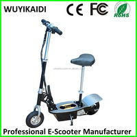 24V 250W cheapest 2 wheel Foldable E-scooter/electric zappy scooter with hub motor