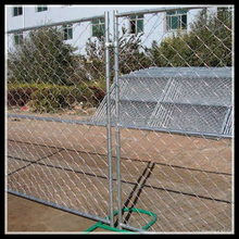 New Product on China Market Garden Used Galvanized and PVC Coated Chain Link Temporary Fence