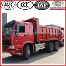 China Manufacturer Heavy Loading 10-wheel howo 18m3 dump truck for sale