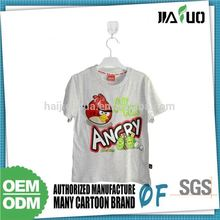 2015 Hot Selling Export Quality Custom Print Kids Tshirts