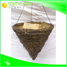 Eco-friendly competitive price natural straw basket with handle