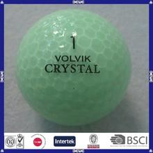 China made customized crystal golf ball
