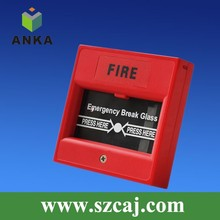 break glass conventional manual call point,call point,manual alarm button