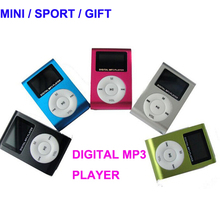 Hot sale usb driver digital mini clip mp3 multimedia player