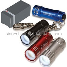 Business Promo Mini aluminum LED Porch with key holder