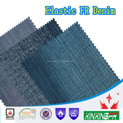 480gsm cotton apyrous denim fabric for workwear