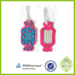 fast delivery China wholesale plastic golf bag tag