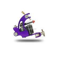 Professional Tattoo Machine Shader Liner 10 Wrap Coils Alloy Black Tattoo Art For Sale