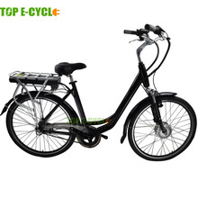 TOP brand rear pack type battery city electric bicycle
