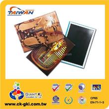 Customized tourist souvenirs metal plate tin fridge magnet
