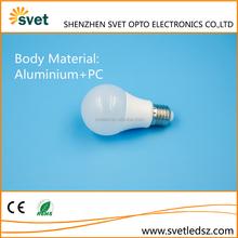High quality home decoration 2 years warranty aluminum plastic led bulb pcb 7w