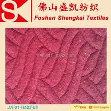High quality jacquard knitted fabric for hoodie/sweater