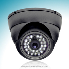 CCTV vandal proof IR dome camera,Color dome camera
