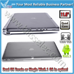 New products 11.6 inch dual os Z3735F Quad Core 1366*768 tablet prices in pakistan