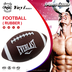 rubber made AMERICAN FOOTBALL for children and promotion