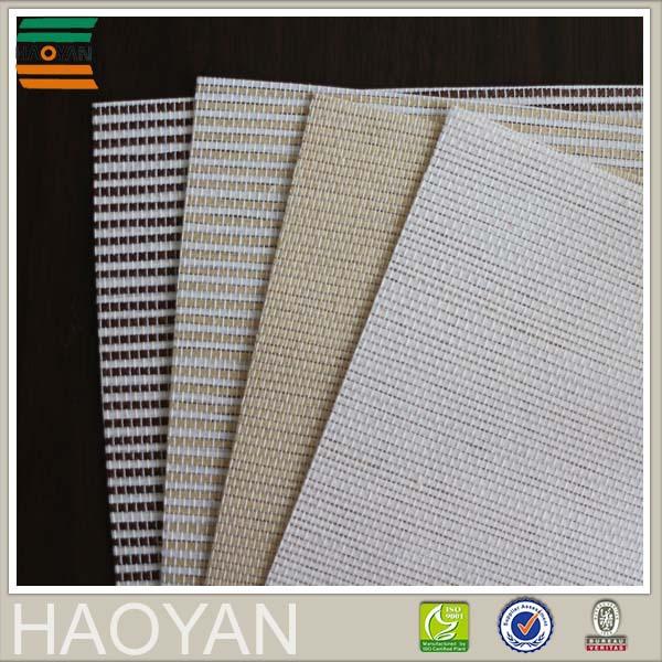 <span class=keywords><strong>Haoyan</strong></span> затемнение белый покрытие комби бумага ткани жалюзи для украшения дома