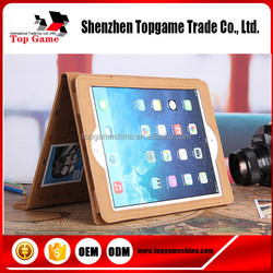 Envelope Folding Flip leather case for ipad mini tablet case