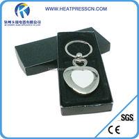 Sublimation Metal Key Chain Key Ring Key Fastener