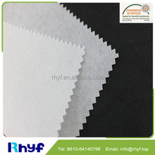 100 polyester thick non woven lining fabric for bag