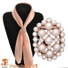 hot selling Accessories full pearl brooch rhinestone pin female silk ,shawl necklace, pendant,shawl pin in brooches