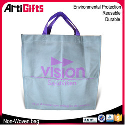 Free samples cheap nonwoven shop bag