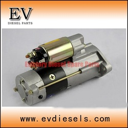 generator alternator 4D34 4D34T 4D35 starter motor ( used on MITSUBISHI diesels)