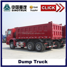 high quality low price 6*4 howo 336hp dump truck