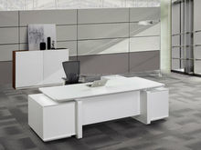 popular executive table solid wood modern design high quality office desk from kailin factory