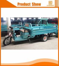 60V1280W lifan 200cc cargo tricycle with cabin