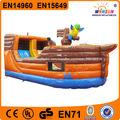 WINSUN juguetes al aire libre inflable castillo inflable puente WSC-114 caliente