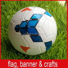 wholesale stitched printed PU/TPU/PVC leather laminated sport soccer ball for promotion