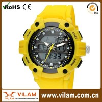 2015 waterproof and custom logo digital sport watch for men