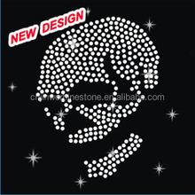 Beautiful stud hotfix motif design Skull S 1 (106)