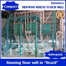 120t Per Day Durum Wheat Flour Mill with Wheat Flour Packing Equipment