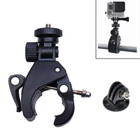 Bike Holder Bicycle / Motorcycle Handlebar Handle Bar Camera Mount + Tripod Mount Adapter For Go pro Hero4 3 2