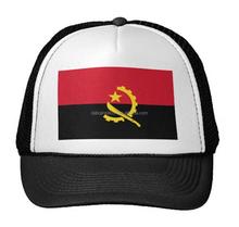 2015 bandera de Angola moda barata mini top hat con el clip