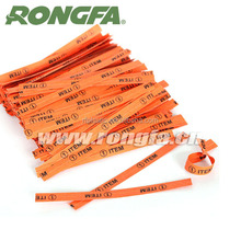 wholesale paper twist tie clip with custom logo