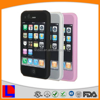 cute silicone case for iphone 4