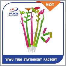 New Design Sun Flower Pen For Student, Promotional Gel Pen