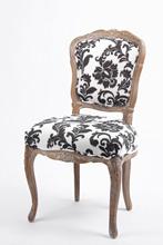 Estilo francês antigo cadeira sem braços cadeira da sala de jantar / carvalho