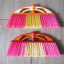 Afrian market, basket broom, plastic broom