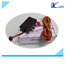 Real Manufacturer Vehicle GPS Tracker system on chip with Memory Card Slot ,Low Power Alert ,Cut off Oil and Power