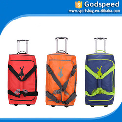 large capicity durable hot sale trolley luggage bag